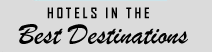 Hotels in the Best Destinations Logo